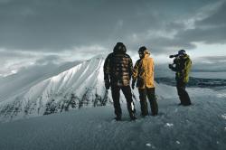 Arctic Lights -dokumentin kuvauksissa. Kuva: Jani Kärppä